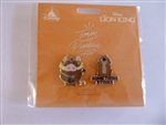 Disney Trading Pin 132562 DS - Disney Duos - Timon and Pumba