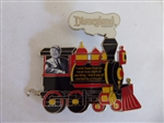 Disney Trading Pin 132678 DLR - Passholder Train with Quote