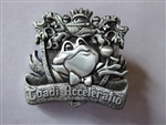 Disney Trading Pin  132680 DLR - Crests of the Kingdom – Mr. Toad's Wild Ride