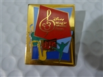 Disney Trading Pins Gold Disney Magic Music Days pin