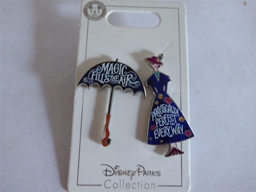 DISNEY PARKS Mary Poppins Return Practically Perfect in Everyway Pin New