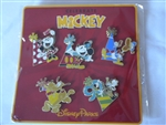 Disney Trading Pin 132864 Celebrate Mickey Set