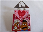 Disney Trading Pin 132974 HKDL - Valentine's 2019 - Mr and Mrs Potato Head