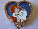 Disney Trading Pin 133031 WDI - Valentine's Day 2019 - O'Malley and Duchess