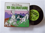 Disney Trading Pin 133104 Vintage Vinyl - Pin of the Month - 101 Dalmatians