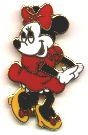 Disney Trading Pin 1333: Small Minnie with No Spots On Dress (White Face)