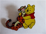 Disney Trading Pin 133324 Loungefly - Winnie the Pooh Hugging Tigger