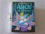 Disney Trading Pin 133387 Pop-Up Books - Alice in Wonderland