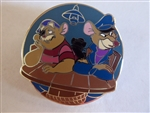 Disney Trading Pin 133549 Disney Disguises- Reveal/Conceal - Basil and Dawson