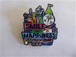 Disney Trading Pin 134328 It's A Small World - A Smile Means Happiness & Friendship