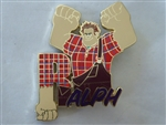 Disney Trading Pin 134404 DEC - Character Name - Wreck It Ralph