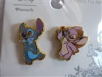 Disney Trading Pin 134536 Loungefly - Angel & Stitch - Alien Love