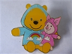 Disney Trading Pins 134616 SDR - Raincoats - Piglet and Pooh