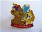 Disney Trading Pin 134933 HKDL - Balloon Starter - Duffy and Cookie Blue