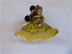 Disney Trading Pin 135005 HKDL - Belle, Mrs. Potts, and Chip
