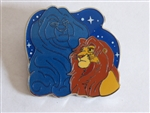 Disney Trading Pins 135017 The Lion King 25th Anniversary - Mufasa and Simba