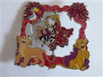 Disney Trading Pins  135019 The Lion King 25th Anniversary - Simba with Nala and Zazu