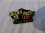 Disney Trading Pin  13508 WDW Downtown Disney - Once Upon A Toy (Grand Opening)