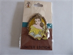 Disney Trading Pin 135416 DEC - Princesses and Friends - Belle and Lumiere