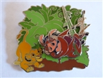 Disney Trading Pins 135254 The Lion King 25th Anniversary - Pumbaa Timon and Simba