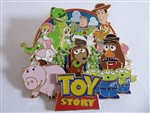 Disney Trading Pins  135464 DEC - Cluster - Toy Story