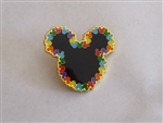 Disney Trading Pin 135645 Loungefly - Mickey Icon - Colored Mickeys Border