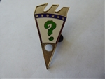 Disney Trading Pin 135659 DLR - Haunted Mansion Holiday Puzzle Reveal/Conceal Mystery Set 2016 - The Nightmare Before Christmas - Question Mark