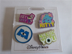 Disney Trading Pin 135900 Monsters Inc. set