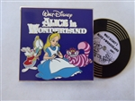 Disney Trading Pin 136164 Vintage Vinyl - Pin of the Month - Alice in Wonderland