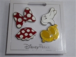 Disney Trading Pins  136210 Minnie Mouse Set