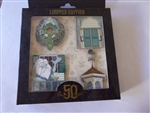 Disney Trading Pins 136224 DLR - The Haunted Mansion 50th Anniversary - Exterior Elements Set