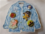 Disney Trading Pin 137014 DS - Oh My Disney - 1990s set with Buttons