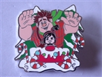 Disney Trading Pin 137121 Holiday 2019 - Ralph and Vanellope