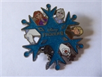 Disney Trading Pin 137344 Loungefly - Frozen II - Character Snowflake