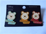 Disney Trading Pin  137390 Loungefly - Winnie the Pooh Moods