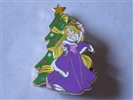 Disney Trading Pin 137503 DLP - Holiday 2019 - Christmas Tree with Rapunzel