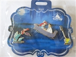 Disney Trading Pin 137635 DS - The Little Mermaid 30th Anniversary Set – Kiss the Girl
