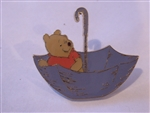 Disney Trading Pin 137723 Loungefly - Pooh in Umbrella