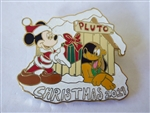 Disney Trading Pin 138878 WDW - Christmas 2019 - Santa Mickey with Pluto