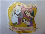 Disney Trading Pin  139811 DS - Tangled 10th Anniversary