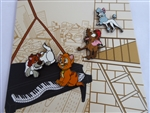 Disney Trading Pin 139856 Loungefly - Oliver and Company Set