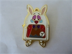 Disney Trading Pin 139953 Loungefly - Backpack Mystery - Alice In Wonderland - White Rabbit