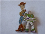 Disney Trading Pin  140168 DS - Sheriff Woody and Buzz Lightyear