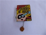 Disney Trading Pin 140186 DS - Pin of the month - Cereal Boxes - Jack Jack's Cookies N'Milk