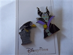 Disney Trading Pin 140344 DS - Maleficent and Raven - 2 pin set
