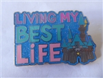 Disney Trading Pin  140495 'Living My Best Life' Fantasyland Castle