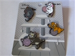 Disney Trading Pin 141232 Loungefly - Cats Set