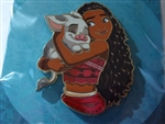 Disney Trading Pin 141295 Artland - Best Friends - Moana & Pua