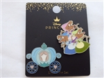 Disney Trading Pin 141313 Loungefly - Cinderella - Mice and Carriage Set