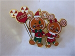 Disney Trading Pin 141479 Holiday 2020 - Gingerbread Cookies
